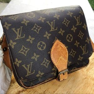 Louis Vuitton cartouchiere MM monogram crossbody